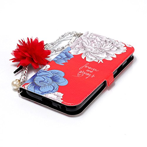 Cuir Samsung Rose En Pour 2017 Bleue Bonroy Housse De Galaxy J3 Première Coque Marguerite 2017 j330 etui j330 rose Rouge Qualité S58wp5