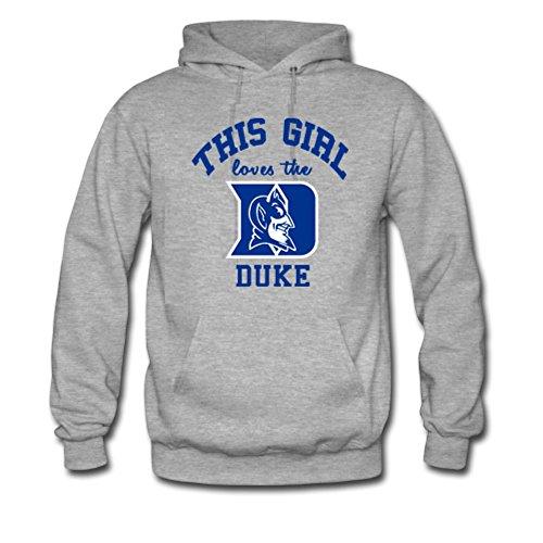 Dukes Classic T-shirt - MsMr Men's Custom This Girl love the Duke Men's Classic Hoodie Grey L
