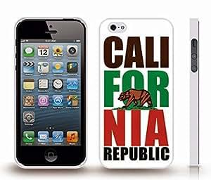 Case For Sony Xperia Z2 D6502 D6503 D6543 L50t L50u Cover with California Republic/ Golden Bear/ White Background Design , Snap-on Cover, Hard Carrying Case (White)