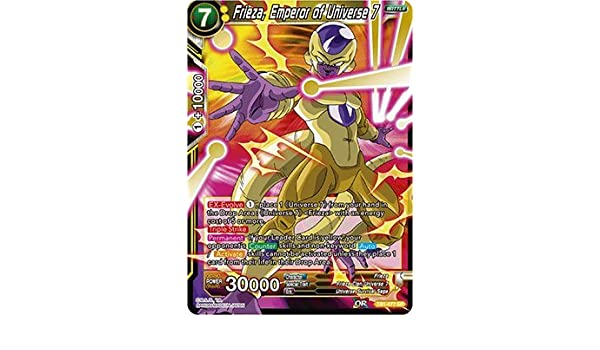 Amazon.com: Frieza, Emperor of Universe 7 - TB01-077 - SR ...