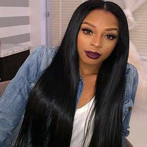 Carina-Hair-360-Lace-Frontal-Wig-Natural-Color-Straight-100-Human-Hair-Wigs-150-Density-Medium-Cap-Medium-Brown-Lace