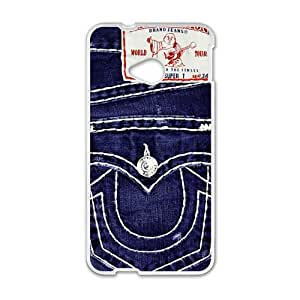 VOV Jean Style Cell Phone Case for HTC One M7