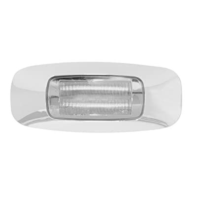 GG Grand General 74721 3-1/2 Inch Rect. Prime Amber/Clear 4 Led Dual Function Light: Automotive