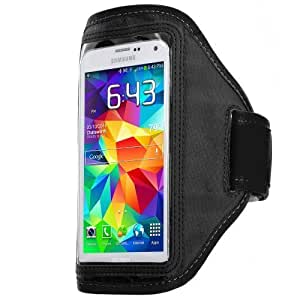 Hu Xiao Accessory Planet Black Gym Sports Running Armband case cover mfp9tFvkj72 for Samsung Galaxy S5