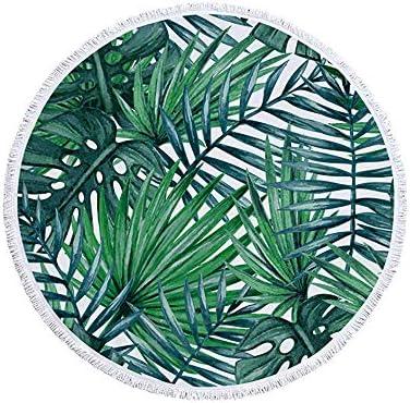 Blanket XXLarge Absorbent Roundie Tropical