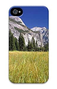 At Foot Mountains PC Case for iphone 4S/4