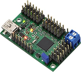 Mini Maestro 18-channel USB Servo Controller