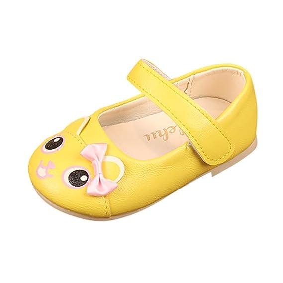 Verano Zapatos para Bebé Zapatos de Bowknot Sandalias para Niñas Pequeñas Zapatilla Impresión de Dibujos Animados para 1-5 años ❤ ️Lonshell: Amazon.es: ...