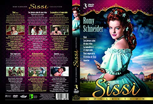 Sissi Collection Dvd Amazon Es Romy Schneider No Disponible Romy Schneider No Disponible Cine Y Series Tv