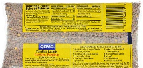 Goya Foods Dry Lentils (Pardina Lentils), 16-Ounce (Pack of 24) by Goya (Image #2)