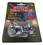 NEW BLACK PANTHER PLATINUM 25K All Natural Male Enhancement Sex Pills Increase Libido Stamina Energy Booster (Multi Packs) (5)
