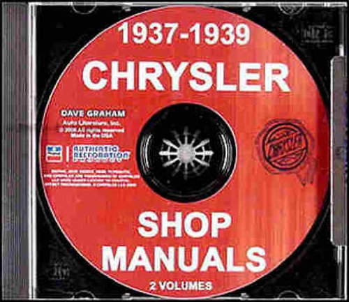 - 1937 1938 1939 CHRYSLER CARS FACTORY REPAIR SHOP & SERVICE MANUAL INCLUDES: including models Royal, Saratoga, Windsor, New Yorker, Airflow, Imperial, Custom Imperial, and Imperial Custom. 37 38 39