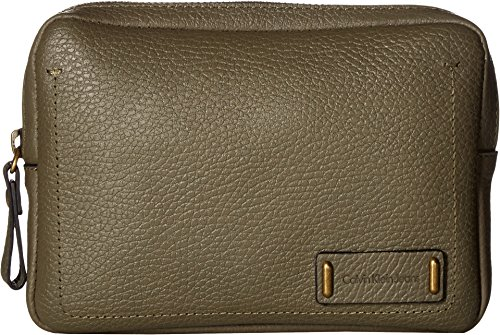 Calvin Klein Women's Zippered Belt Bag Cargo XL Calvin Klein Embossed Belt