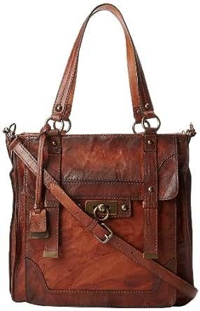 FRYE Cameron Tote Handbag,Cognac,One Size