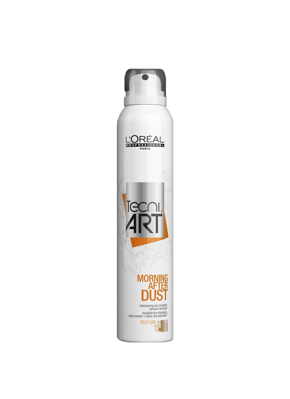 L'Oreal Professionnel Care& Styling TNA Morning After Dust Champú Seco - 200 ml Loreal Deutschland GmbH 3474636108374