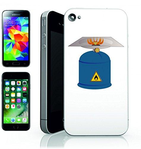 Smartphone Case bruciatore di gas di campeggio di calore del fuoco del forno della fiamma di masterizzazione di carburante per Apple Iphone 4/4S, 5/5S, 5C, 6/6S, 7& Samsung Galaxy S4, S5, S6, S6E