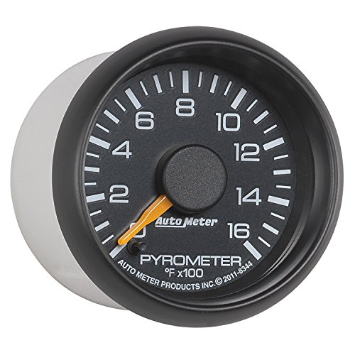 Auto Meter 8344 Chevy Factory Match Electric Pyrometer Gauge Kit by Auto Meter (Image #1)