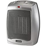Lasko Ceramic Heater with Adjustable Thermostat, 3 Quiet Comfort Settings & Built-In Safety Automatic Overheat Protection, Convenient Carry Handle For Easy Mobility