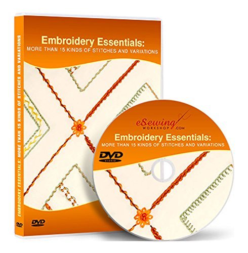 Embroidery Essentials - Video Lesson on DVD