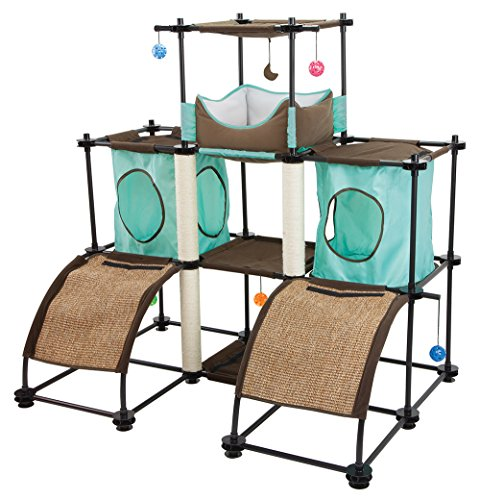 Kitty Cat Furniture (Kitty City Kitty City Steel Claw Castle Cat Furniture)