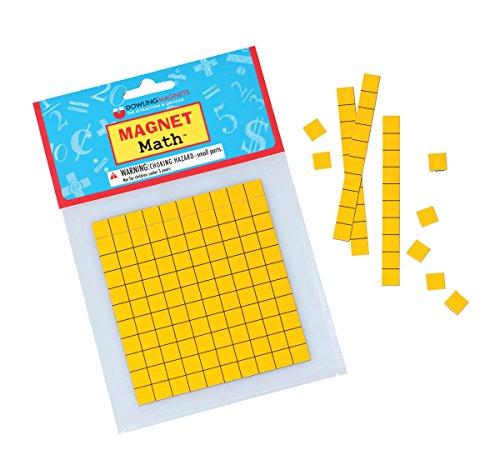 Dowling Magnets Magnetic Base Ten, Set of 62