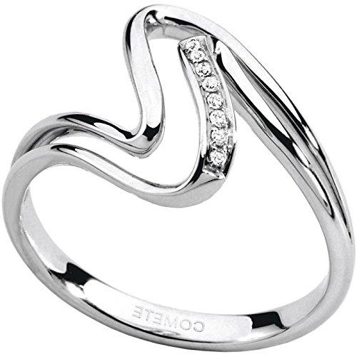 Bague Comete pour femme anb969or blanc diamant
