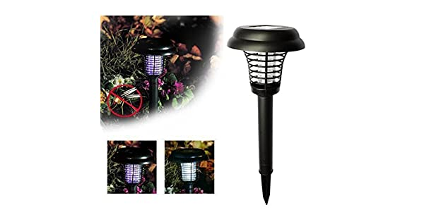 Amazon.com: Transer Luz LED alimentada por energía solar ...