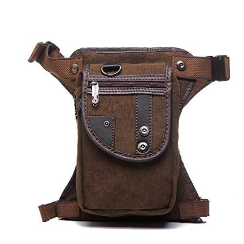 Anjoy Drop Leg Bag Fanny Waist Thigh Packs Outdoor Motorcycle Costume Pouches