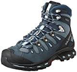 Salomon Women's Quest 4D 2 GTX W Backpacking Boot, Deep Stone Blue/Light Onix, 8.5 M US