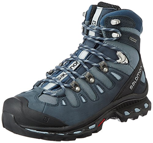 Salomon Women's Quest 4D 2 GTX W Backpacking Boot, Deep Blue/Stone Blue/Light Onix, 5.5 M US by Salomon