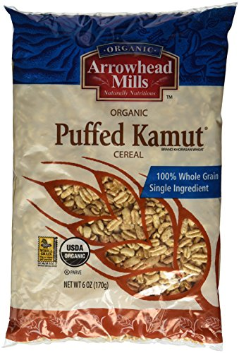 (Arrowhead Mills Organic Puffed Kamut Cereal 6 oz (Pack of 3))