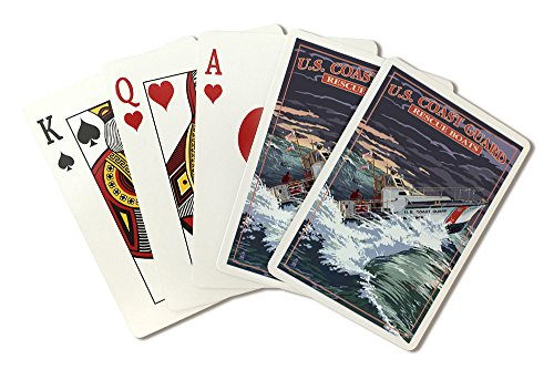 44' Poker (U.S. Coast Guard - 44 Foot Motor Life Boat (Playing Card Deck - 52 Card Poker Size with Jokers))