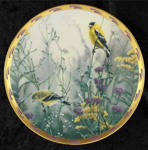 Golden Splendor Splendour Bird Birds Plate Lenox