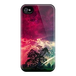 Durable Case For The Iphone 4/4s- Eco-friendly Retail Packaging(falling Star)