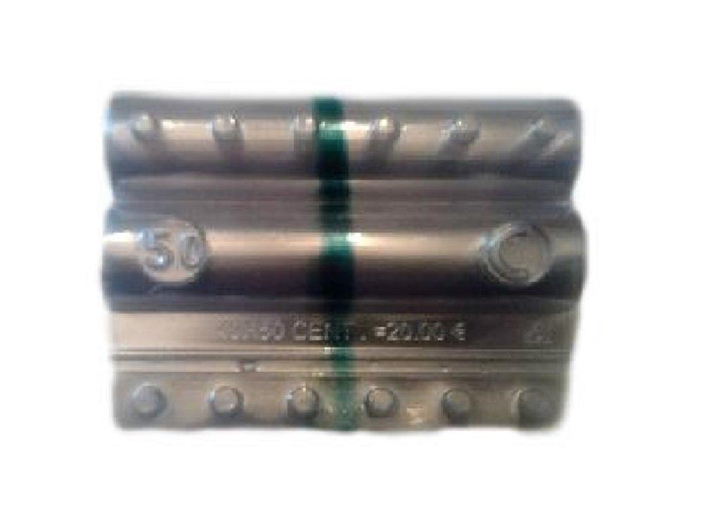 Blister per monete euro - Kit 100 blister portamonete da 50 centesimi Iternet