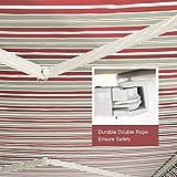 Diensweek 15'x10', Red/Grey