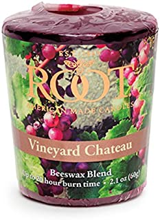 product image for Root Candles 20-Hour Scented Beeswax Blend Votive Candles, 18-Count, Vineyard Chateau
