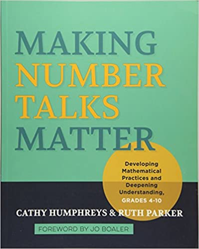 Amazon making number talks matter developing mathematical making number talks matter developing mathematical practices and deepening understanding grades 4 10 fandeluxe Choice Image