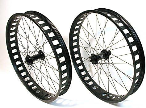 Lrt 26 pulgadas fatbike Rueda de bicicleta rueda delantera y ...