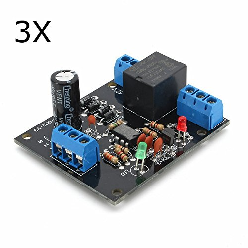 ILS - 3 pieces 12V DC Water Level Switch Sensor Controller Water Tank Tower Automatic - Tower Water Shopping