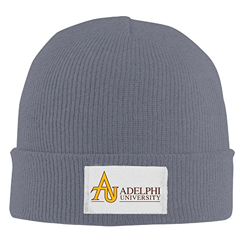 Adult Fashion Adelphi University Cotton Kitted Cap Knit Beanie Winter Hat
