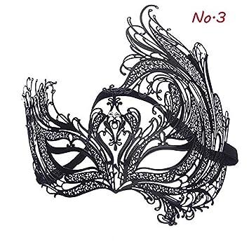 Macxy - 1Pcs Ahueca hacia Fuera el cráneo Alto Grado de máscara de Hierro máscara de