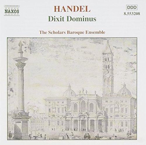 Handel: Dixit Dominus, Salve Regina, Nisi Dominus / Scholars Baroque Ensemble by G.F. Handel : G.F. Handel: Amazon.es: Música