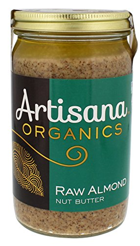 Artisana Organics - Almond Butter, no added sugar or oil, Certified organic, RAW, and non-GMO, grown and made in California