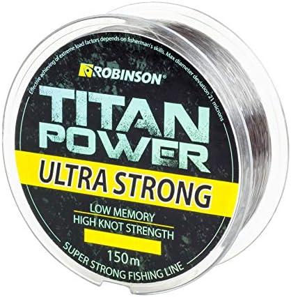 Robinson Angelschnur Titan Power Ultra Strong 150m//0,155-0,500mm stark !