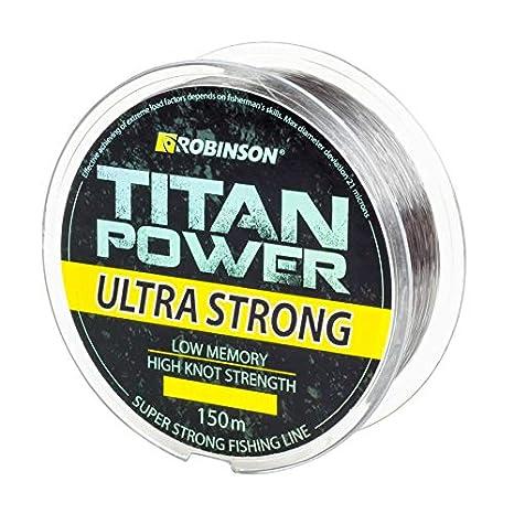 Robinson Titan Power Ultra Strong Sedal de Pesca 150 m, 0,155-0,500 mm