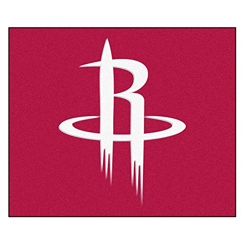FANMATS 19443 NBA - Houston Rockets Tailgater Rug , Team Color, 59.5''x71'' by Fanmats