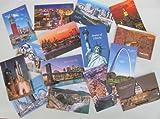 Souvenir 3d Postcards, NEW York, Washington D. C. San Francisico, St Louis, San Diego, Etcset of 15