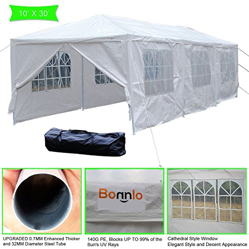 Cheap  VINGLI Bonnlo 10' x 30' Heavy Duty Canopy Wedding Party Tent with..