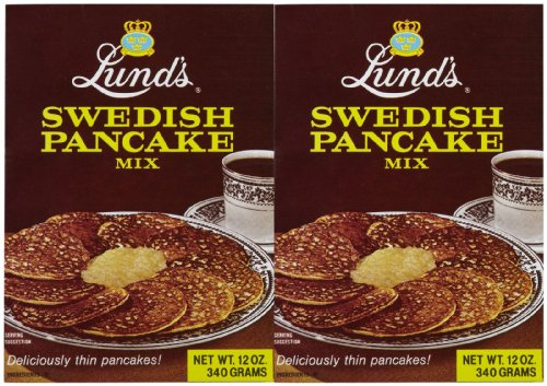 Lund's Swedish Pancake Mix - 12 oz - 2 ()